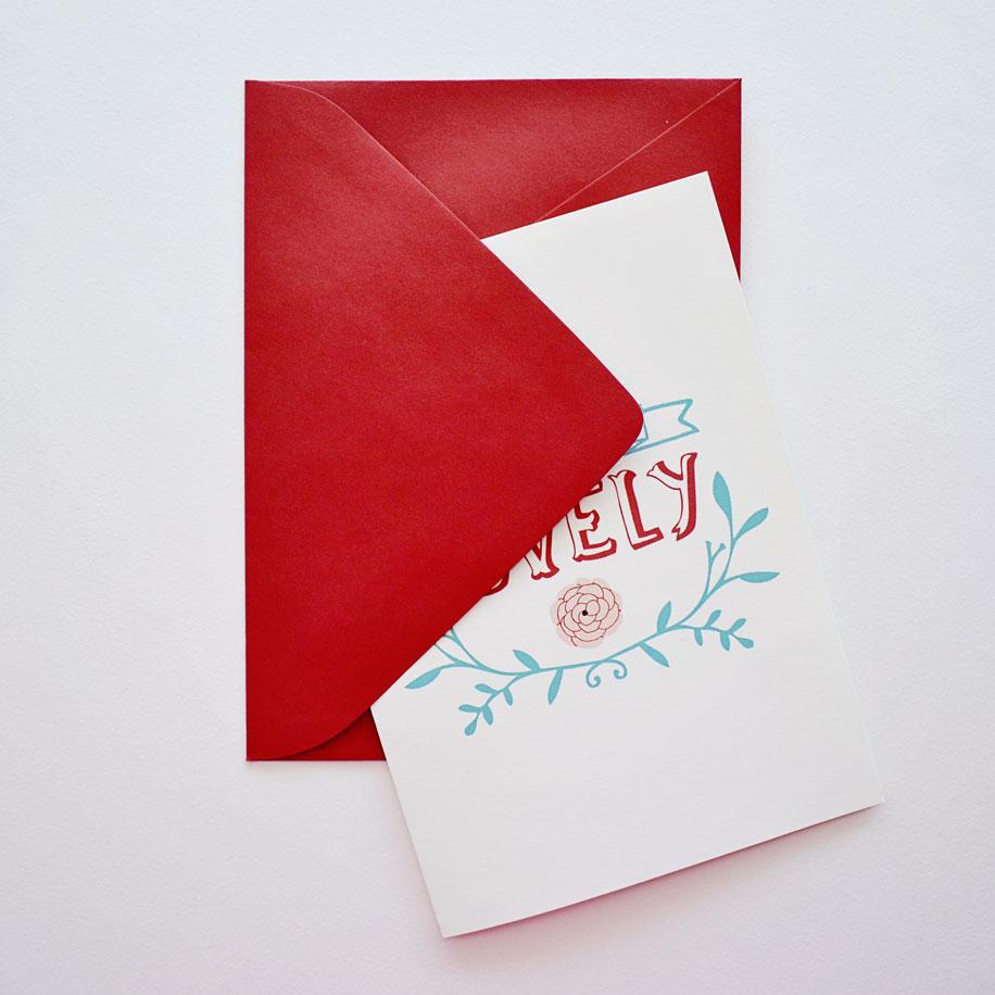 Envelope - close up