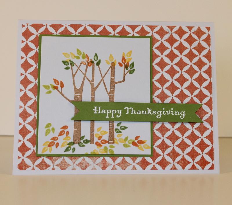 Birch Tree Thanksgiving