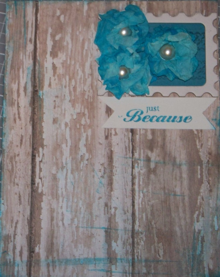 Teal Shabby Chic