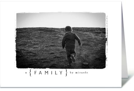 Photography Child Adoption Card