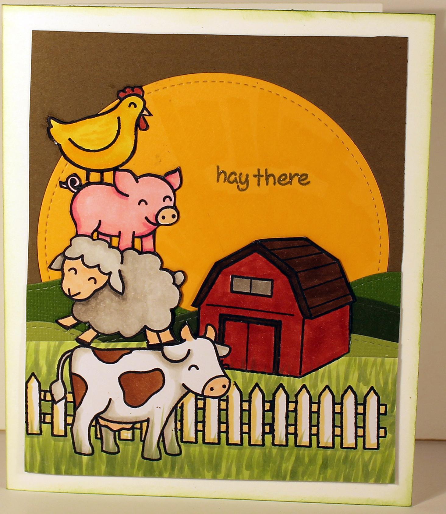 Hay Hay!
