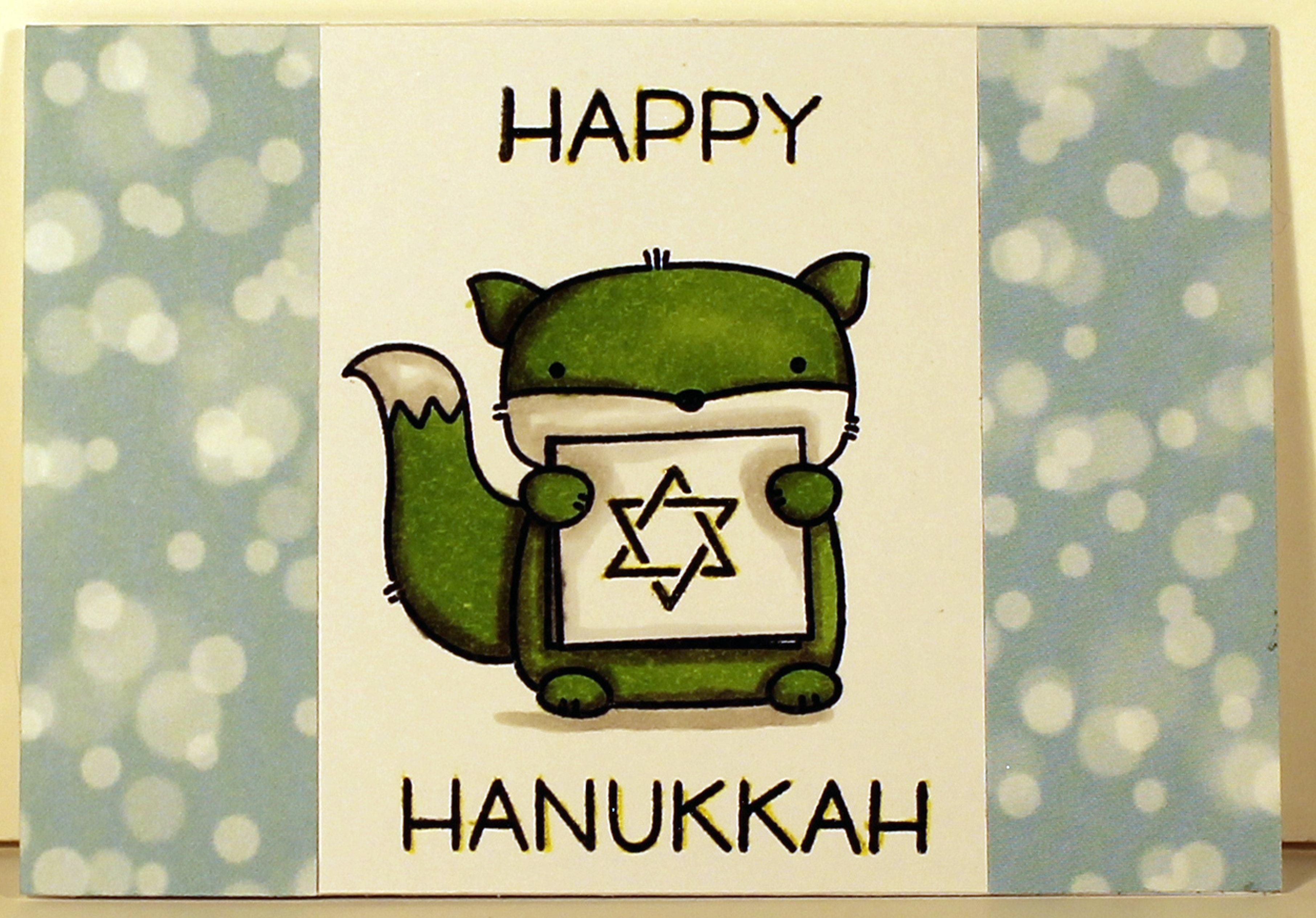Hanukkah Squirel