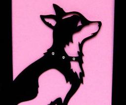 Chihuahua Silhouette