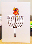 Thanksgivukkah Menorah