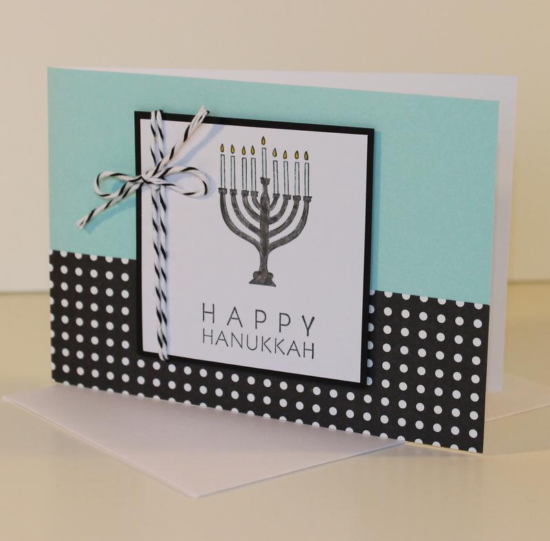 Menorah Card