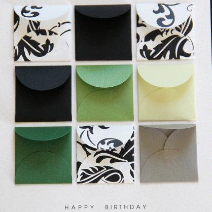 Happy Birthday Emerald - Tiny Envelopes