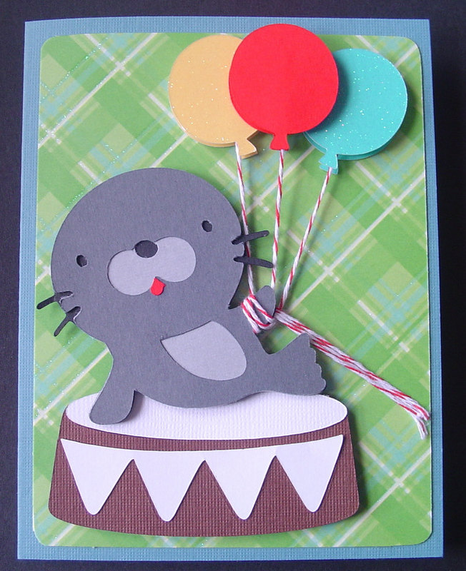 Seal with Balloons