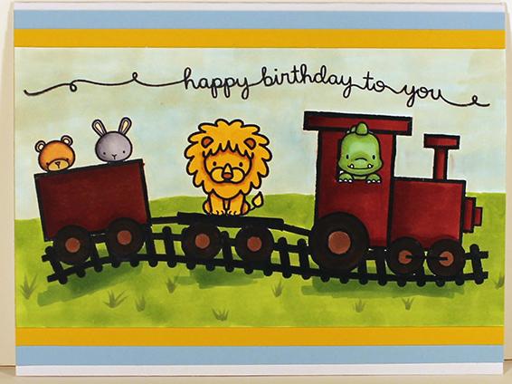 Happy Birthday Train