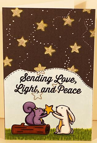 Sending Love, Light, Peace