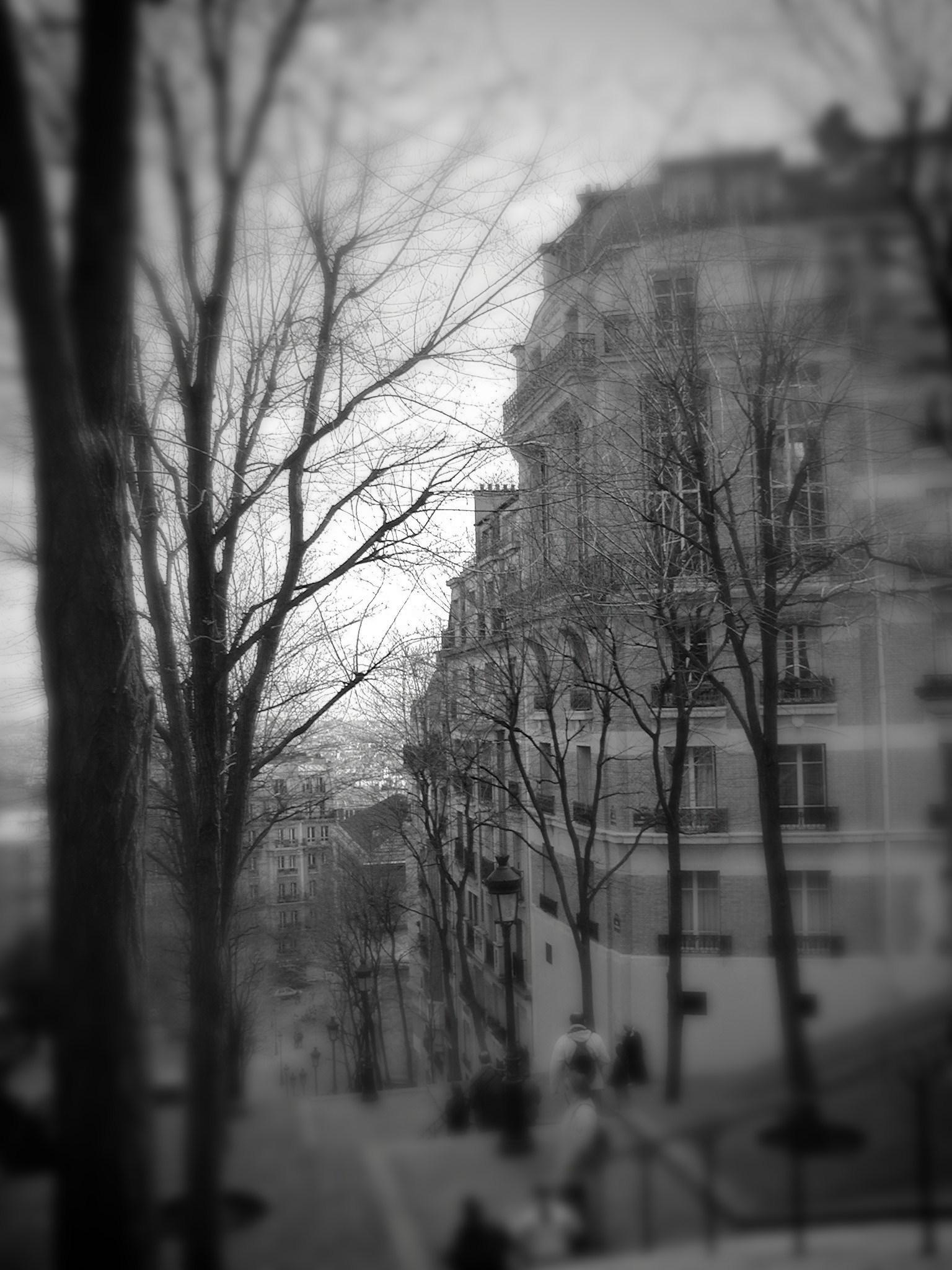 Street in Montmartre