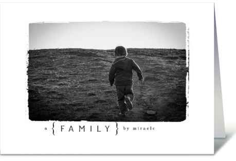 Photography Child Adoption Card