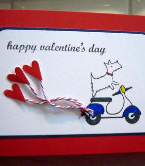 Valentine's Dog Vespa