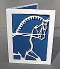 Dressage Horse Stallion Silhouette
