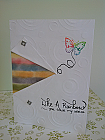 Like A Rainbow Thinking Of You Just Because Card