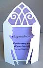 Wedding Silhouette Purple