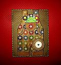 Birthday Boy Overalls with Frog Birthday Card