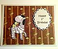 Zebra First Birthday